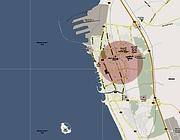 Il luogo dove � stato rapito un ingegnere italiano che lavorava in un'acciaieria vicino Tartous, in Siria (Ansa da Google)