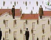 «Golconde» di René Magritte