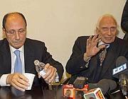 Renato Schifani e Marco Pannella