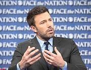 Ben Affleck domenica nell'intervista alla Cbs (Reuters/Cbs)