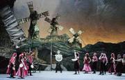 Una scena del Don Chisciotte all'Opera di Roma