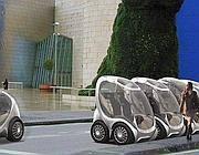 Il modello di auto urbana Hiriko