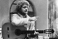Beppe Grillo protagonista del film 'Cercasi Gesù' diretto nell'82 da Luigi Comencini