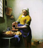 Jan Vermeer, Lattaia (1659 circa)