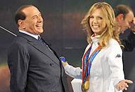 Berlusconi e la Vezzali