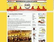 Il blog del M5s Lazio