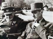 Il generale Charles de Gaulle (1890-1970) con Winston Churchill