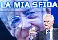Mario Monti a Uno Mattina (Ansa)