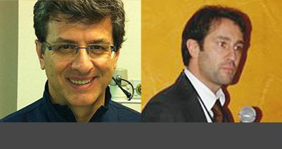 Gli esperti che rispondono ai lettori sul forum vista nel bambino sono da sinistra: il professor Paolo Nucci e il dottor Massimiliano Serafino