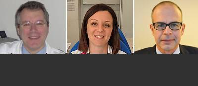 Gli esperti che rispondono ai lettori sul forum allattamento e svezzamento sono (da sinistra): il professor Gianvincenzo Zuccotti, la dottoressa Valentina Fabiano e il dottor Dario Dilillo