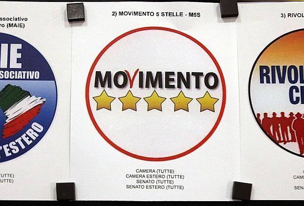 Il simbolo simile a quello del Movimento 5 stelle