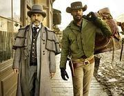 Jamie Foxx e Christoph Waltz in Django Unchained