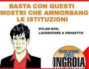 Il manifesto con Dylan Dog