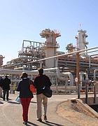 L'impianto di �In Amenas�, al confine col Mali