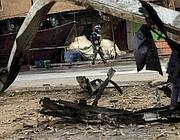I resti di un attacco a Dujail (Ap/ Karim Kadim)