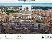 Il profilo in latino del Papa