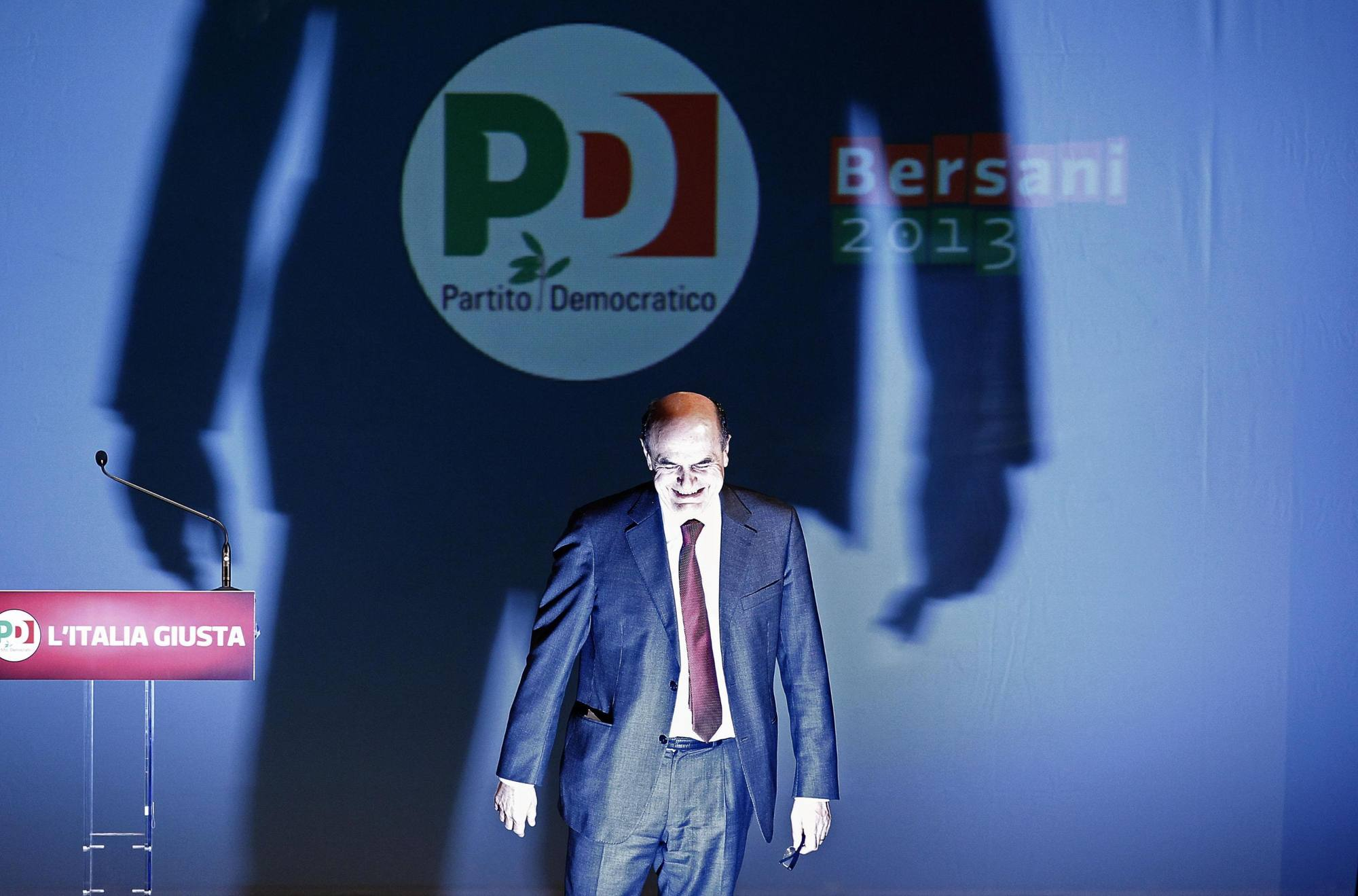 Pier Luigi Bersani (Ansa/Di Meo)