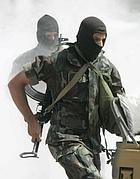 Forze speciali algerine in addestramento (Reuters)