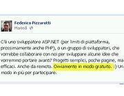 L'intervento di Pizzarotti sulla sua pagina Facebook