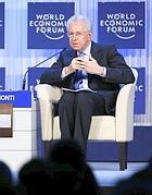 Mario Monti a Davos