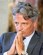 Giuseppe Mussari presidente dimissionario dell'Abi (Ansa)