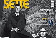 La copertina del prossimo numero di «Sette» in edicola venerdì 1 febbraio