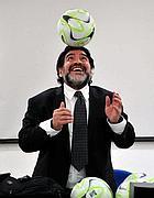 Diego Armando Maradona (Afp)