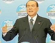 Il presidente del Popolo della Libertà, Silvio Berlusconi (Ansa)
