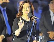 Il presidente argentino Cristina Kirchner, 59 anni (Epa/Pablo Rodriguez)