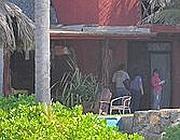 La casa a Playa Encantada, dove è avvenuta la violenza (LaPresse/AP/Bernandino Hernandez)