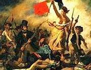 «La libertà che guida il popolo» di Delacroix