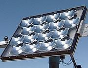 Un pannello solare a concentrazione