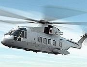 Un elicottero Agusta Westland AW101