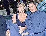L'attore di teatro Giampiero Ingrassia con la moglie Barbara Cosentino