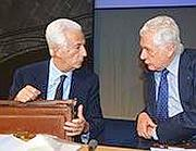 Gianluigi Gabetti e Franzo Grande Stevens