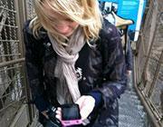 La foto del profilo �Twitter� di Katie Stanton, vicepresidente del sito di microblogging