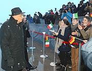 Napolitano a Monaco (Ansa)