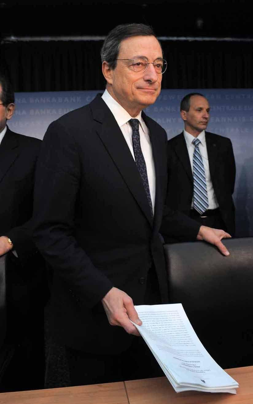 Il presidente Bce Mario Draghi (Tam Tam)