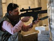 Un ribelle siriano  a Maarat al-Nuaman (Ap)