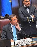 Gianfranco Fini (Pierpaolo Scavuzzo/ Imagoeconomica)