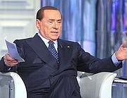 Il leader del Pdl, Silvio Berlusconi (Ap)