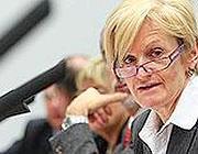 L'ex ministro Livia Turco