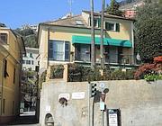 La casa del suocero di Grillo a Bogliasco, Genova (Ansa)