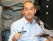 Massimo Ciancimino in aula, nel 2011 (Fotogramma / Fucarini)