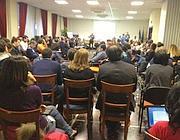 La riunione all'Eur del M5S