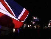 La gioia degli abitanti delle Falkland dopo l'esito del voto (Reuters)