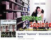La pagina «Spotted» dell'Università la Sapienza di Roma