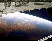 La Terra vista dallo spazio (Ansa/Nasa tv)