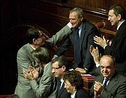 Piero Grasso, nuovo presidente del Senato (LaPresse/Scrobogna)