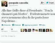 Il tweet del portavoce di Napolitano